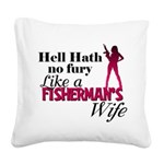 fishermanswife.png Square Canvas Pillow