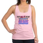 Crabby Mommy Powers Racerback Tank Top
