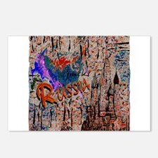 russia abstract crayon effect art illustration Pos