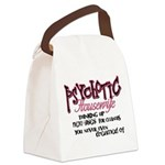Psychotic Housewife Canvas Lunch Bag