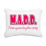 M.A.D.D. Rectangular Canvas Pillow