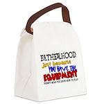 Fatherhood - Equipment Canvas Lunch Bag