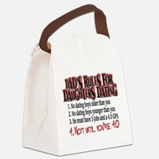 Cute Insanity Canvas Lunch Bag