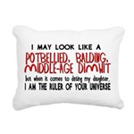 Ruler of Your Universe Rectangular Canvas Pillow