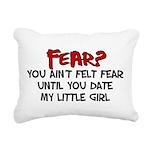 fear.png Rectangular Canvas Pillow