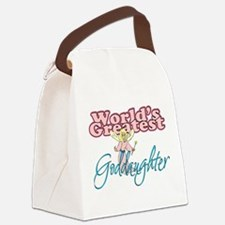 Cute Godparents Canvas Lunch Bag