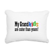 Grandkids Cuter Than Yours Rectangular Canvas Pill