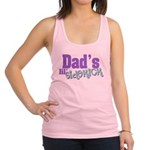 Dad's Lil' Sidekick Racerback Tank Top