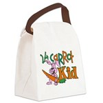 24 Carrot Kid Canvas Lunch Bag