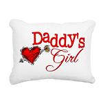 Daddy's Girl Rectangular Canvas Pillow