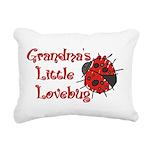 grandpalovebug.png Rectangular Canvas Pillow