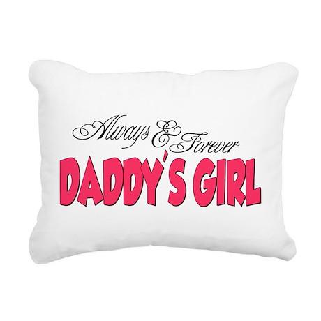 DADDYSGIRL.png Rectangular Canvas Pillow