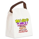 whenigrowup.png Canvas Lunch Bag