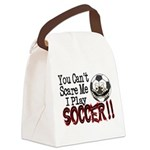 Soccer - No Fear Canvas Lunch Bag