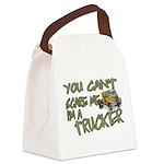 No Fear Trucker Canvas Lunch Bag