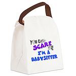 babysitter.png Canvas Lunch Bag