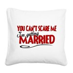 married.png Square Canvas Pillow