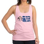 turn left.png Racerback Tank Top