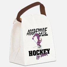 Hockey by Choice Canvas Lunch Bag