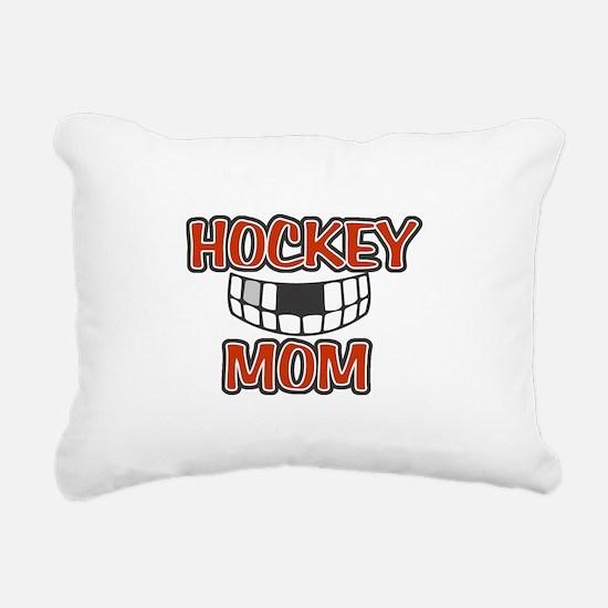 Hockey Mom Rectangular Canvas Pillow