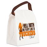 Hell Hath No Fury - Trucker's Gir Canvas Lunch Bag