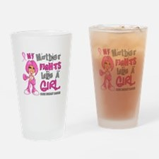 Licensed Fight Like A Girl 42.9 Bre Drinking Glass