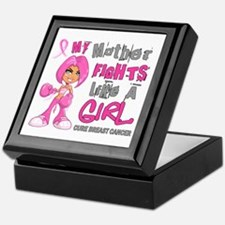 Licensed Fight Like A Girl 42.9 Breas Keepsake Box