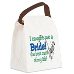 catch of my life.png Canvas Lunch Bag
