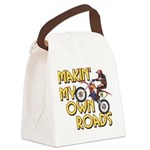 OWN ROADS.png Canvas Lunch Bag