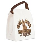 Save a Deer Canvas Lunch Bag