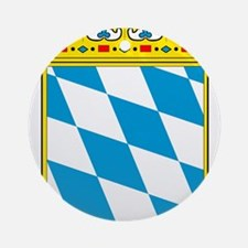 Bayern Wappen Ornament (Round)