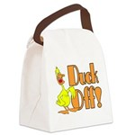Duck Off Canvas Lunch Bag