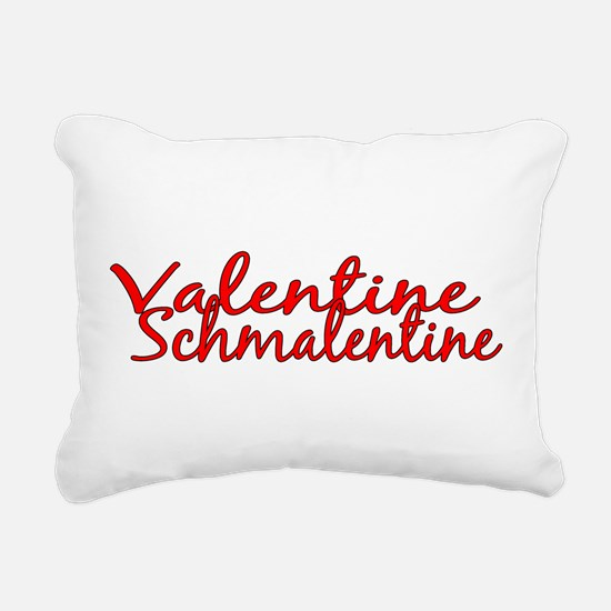 schmalentine222.png Rectangular Canvas Pillow
