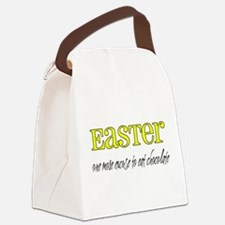 Easter - Chocolate Canvas Lunch Bag