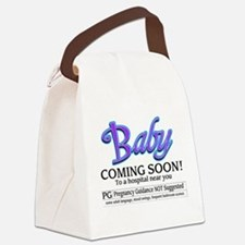 Baby - Coming Soon! Canvas Lunch Bag