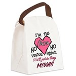 I'm The Mom! Canvas Lunch Bag