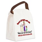 Don't Ask Me - Moms Canvas Lunch Bag