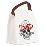 Dad to the Bone Canvas Lunch Bag