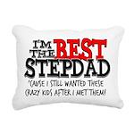 Best Stepfather Rectangular Canvas Pillow