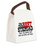 Best Stepfather Canvas Lunch Bag