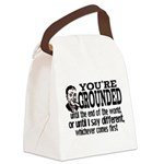 You're Grounded! Canvas Lunch Bag