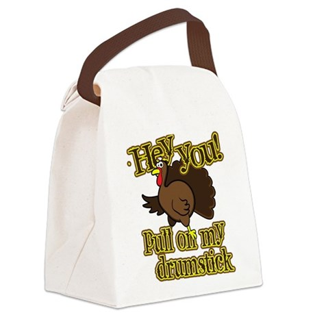 Pull on my Drumstick Canvas Lunch Bag
