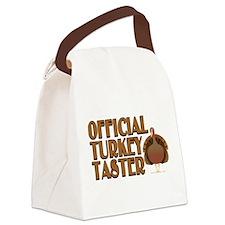 fficial Turkey Taster Canvas Lunch Bag
