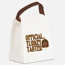 fficial Turkey Taster Canvas Lunch Bag
