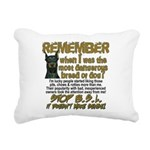 Remember when? Rectangular Canvas Pillow