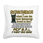 Remember when? Square Canvas Pillow