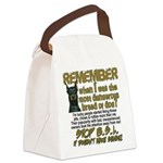 Remember when? Canvas Lunch Bag