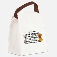 Dumb Animals Canvas Lunch Bag