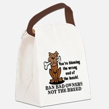 Ban Bad Owners Canvas Lunch Bag