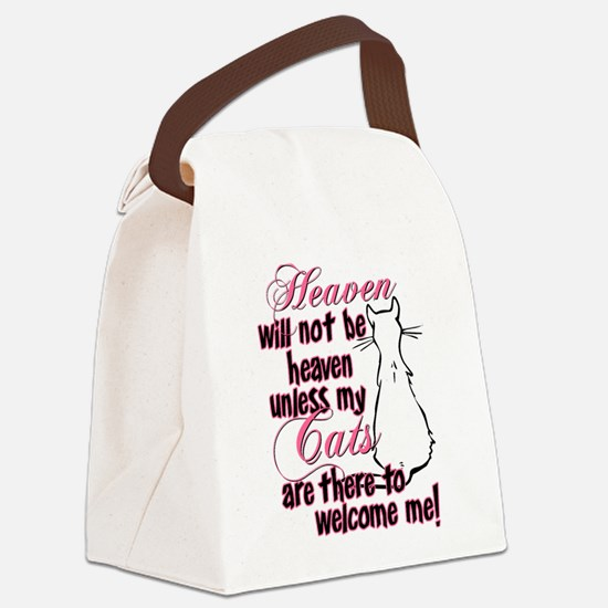 heaven catw.png Canvas Lunch Bag